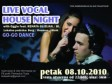 ˝Live Vocal House Night˝ u clubu ˝Palma˝